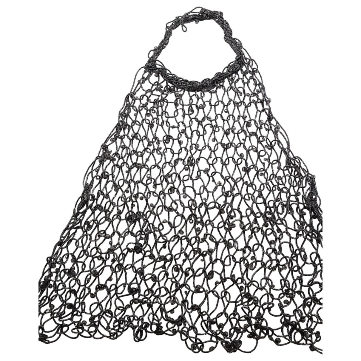 Brunello Cucinelli - Collier   pour femme en metal - gris
