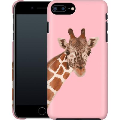 Apple iPhone 7 Plus Smartphone Huelle - Giraffe Pride  von Mukta Lata Barua