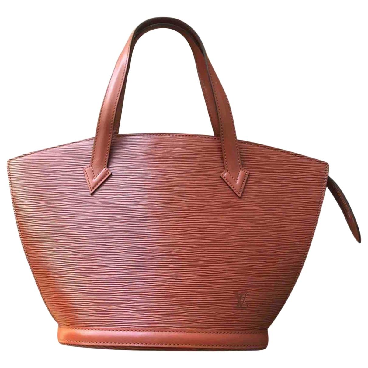 Louis Vuitton Saint Jacques Camel Leather handbag for Women \N