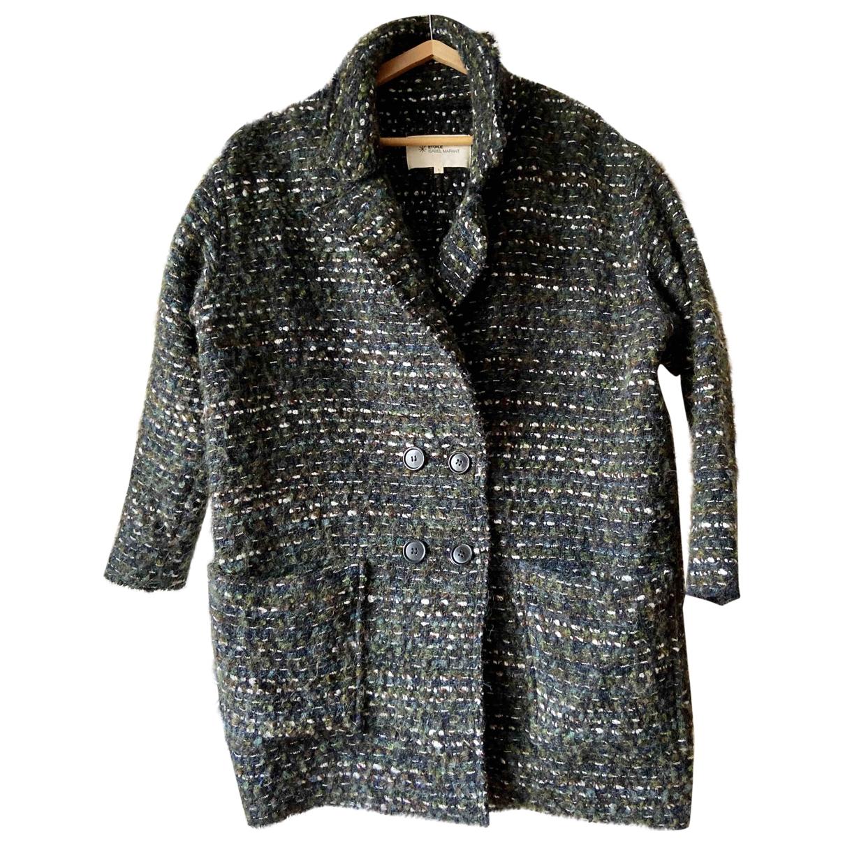 Isabel Marant Etoile \N Maentel in  Bunt Wolle
