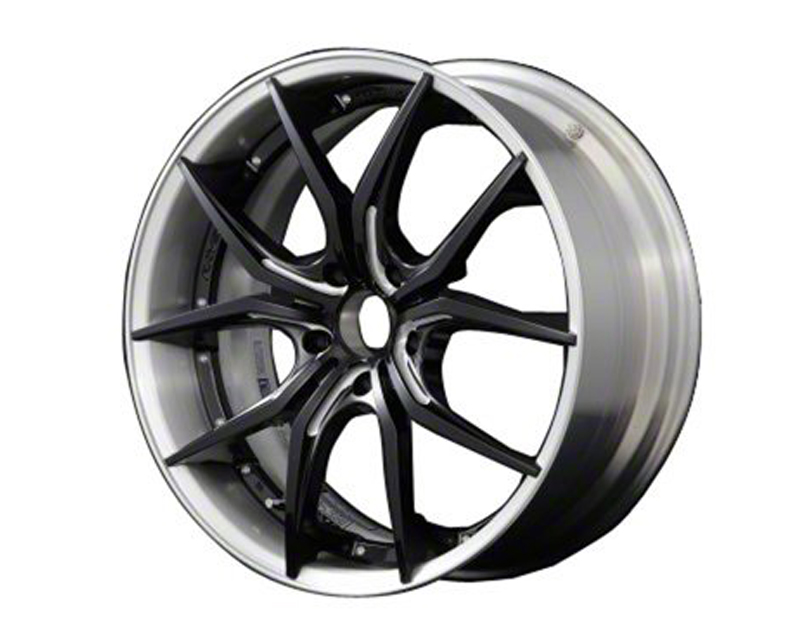 57Motorsport 57MSFXXP-2095-512035 Black & Machining w| Brushed Rim G07FXX Pro Wheel 20x9.5 5x120 35mm