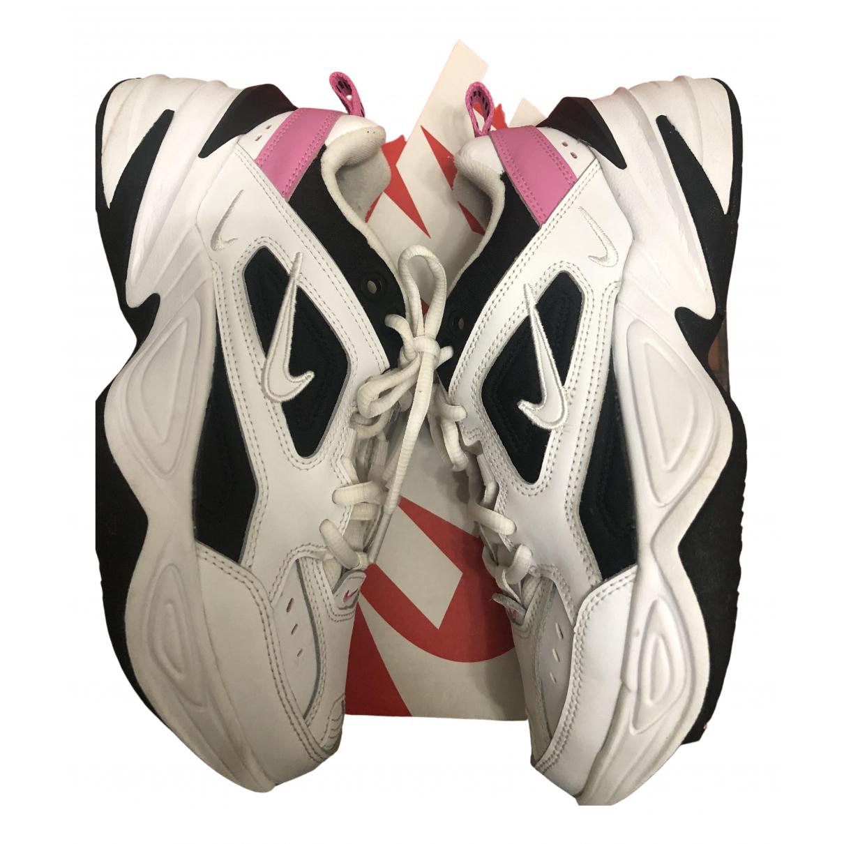 Nike - Baskets M2K Tekno pour femme en cuir - blanc