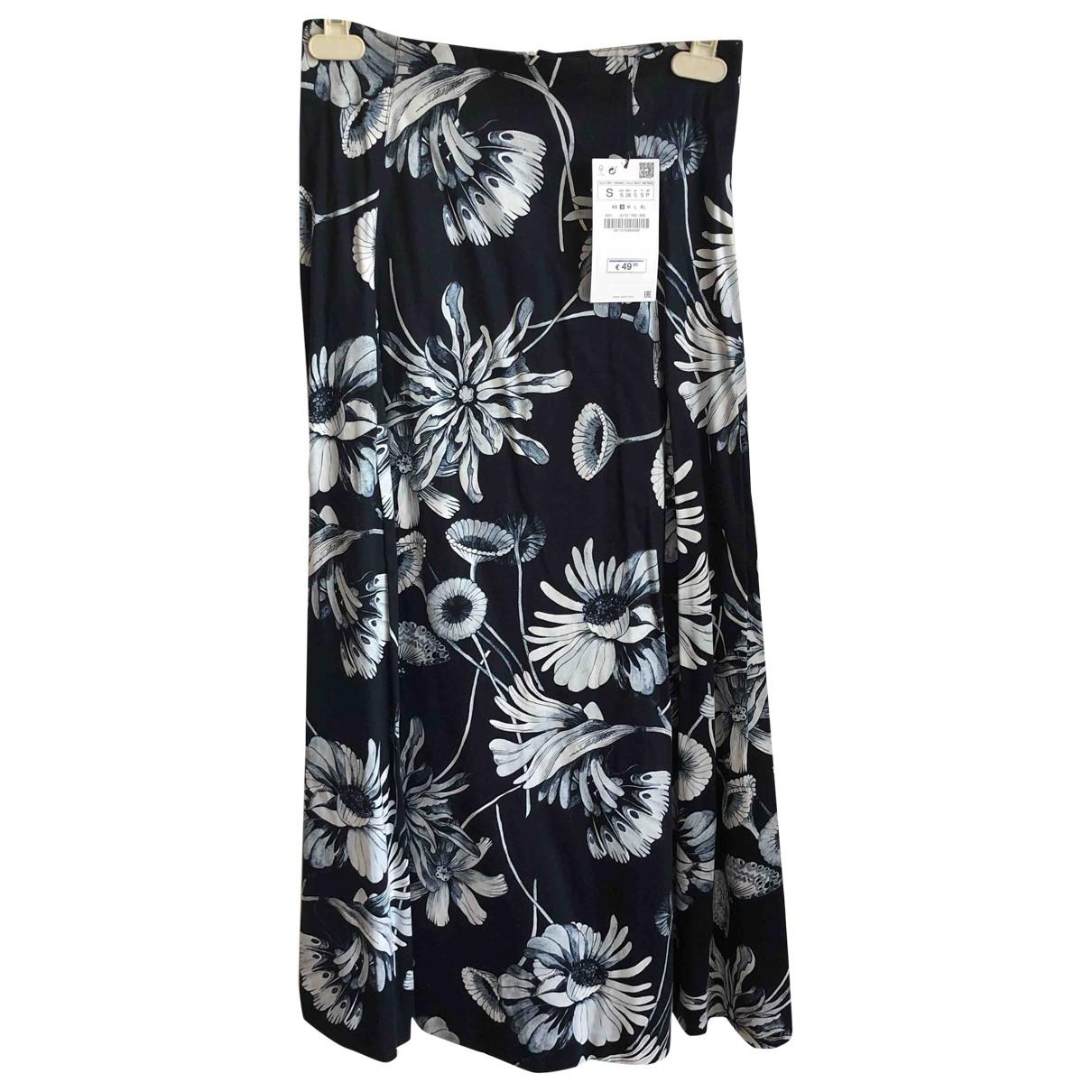 Zara \N Navy Cotton skirt for Women S International