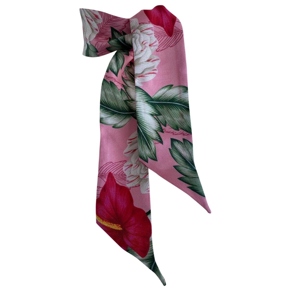 Gucci \N Pink Silk scarf for Women \N