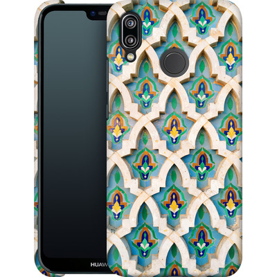 Huawei P20 Lite Smartphone Huelle - Moroccan Mosaic von Omid Scheybani