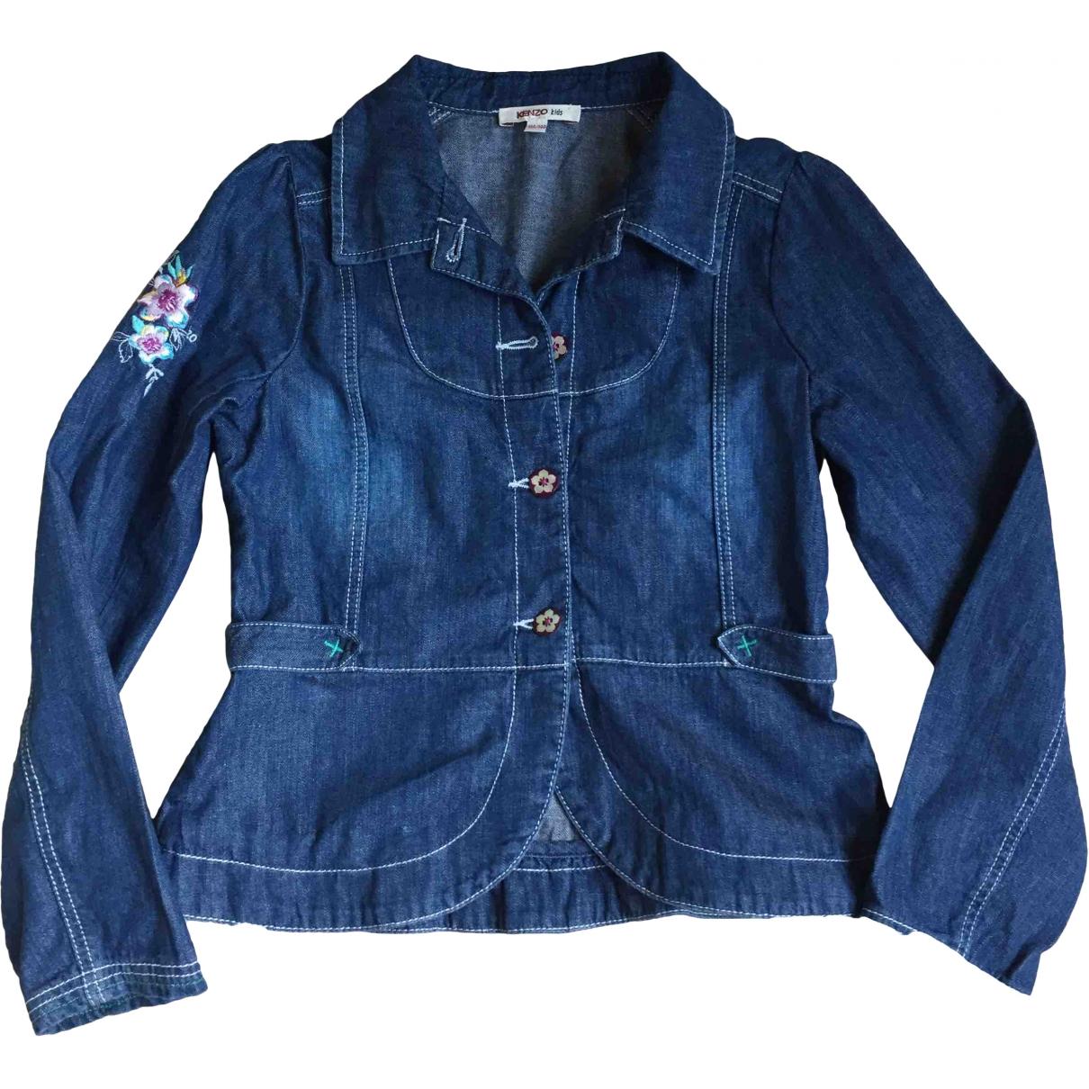 Kenzo \N Blue Denim - Jeans jacket & coat for Kids 10 years - up to 142cm FR