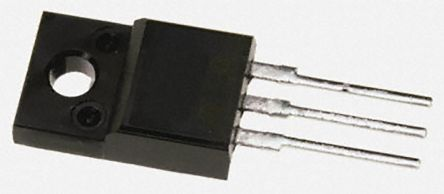 STMicroelectronics N-Channel MOSFET, 3 A, 800 V, 3-Pin TO-220FP  STP4NK80ZFP (5)