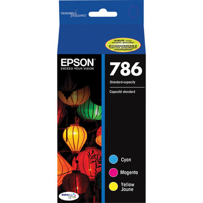 Epson T786520 Original Color Ink Cartridge Combo C/M/Y
