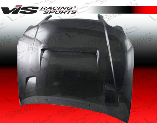 VIS Racing 98LXGS34DALF-010C Carbon Fiber Alfa Hood Lexus GS300/400 98-05
