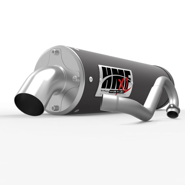 HMF Racing 735524638887 Full System Titan XL Series Exhaust Polaris Ace 330 14-16