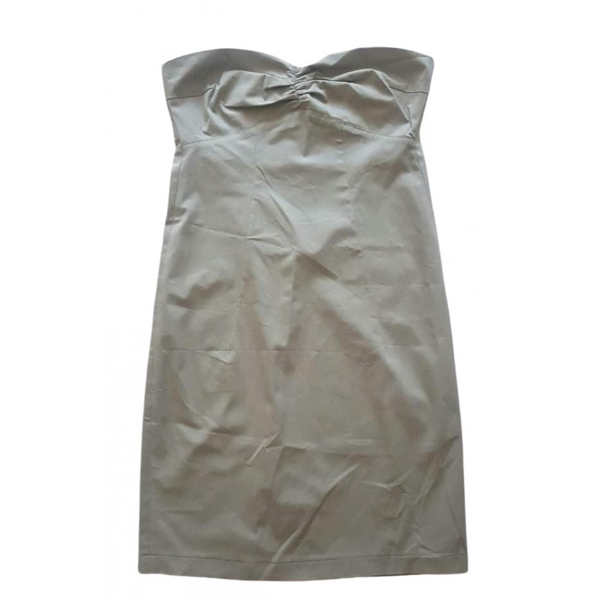 Patrizia Pepe \N Grey Cotton dress for Women 42 IT