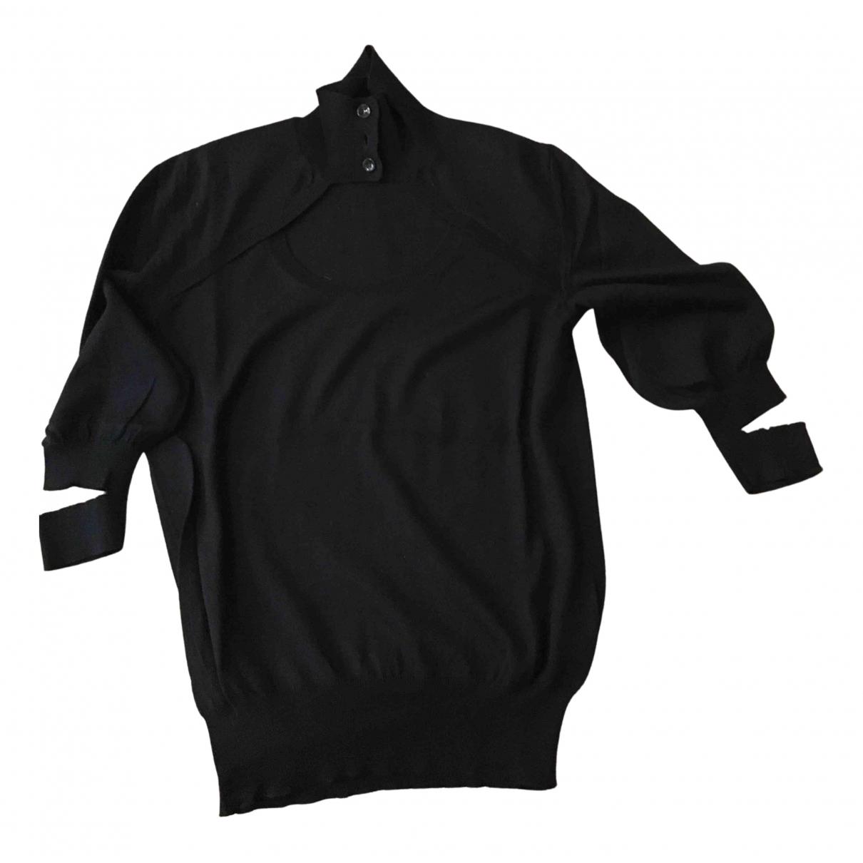 Yves Saint Laurent N Black Wool Knitwear for Women M International