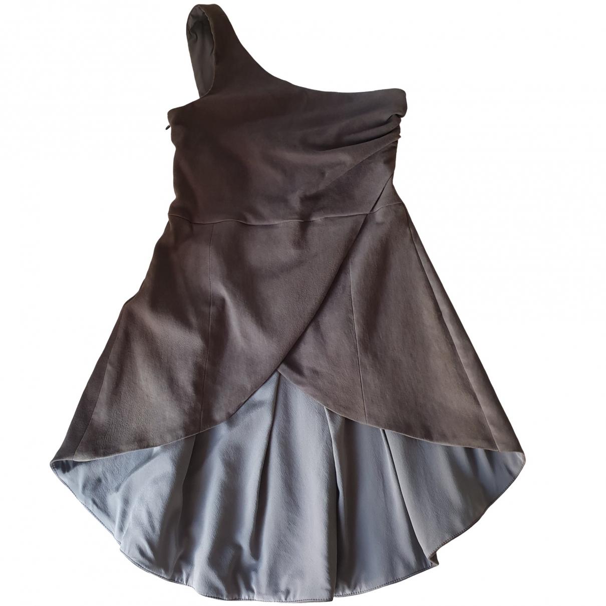 Brunello Cucinelli - Top   pour femme en suede - gris