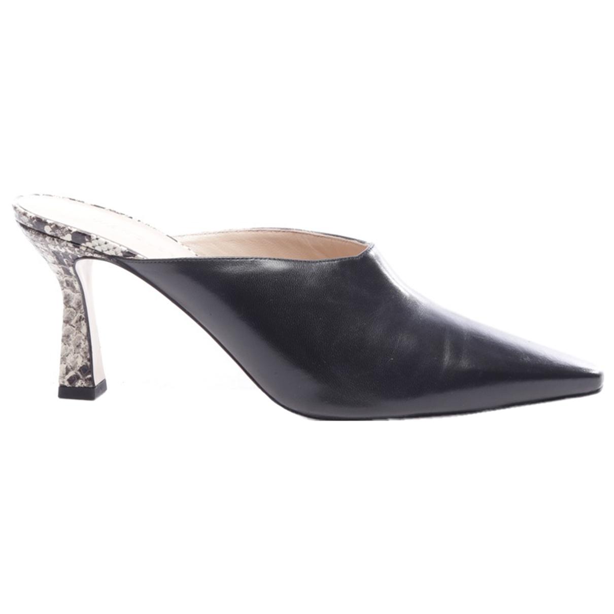 Wandler - Escarpins   pour femme en cuir - noir
