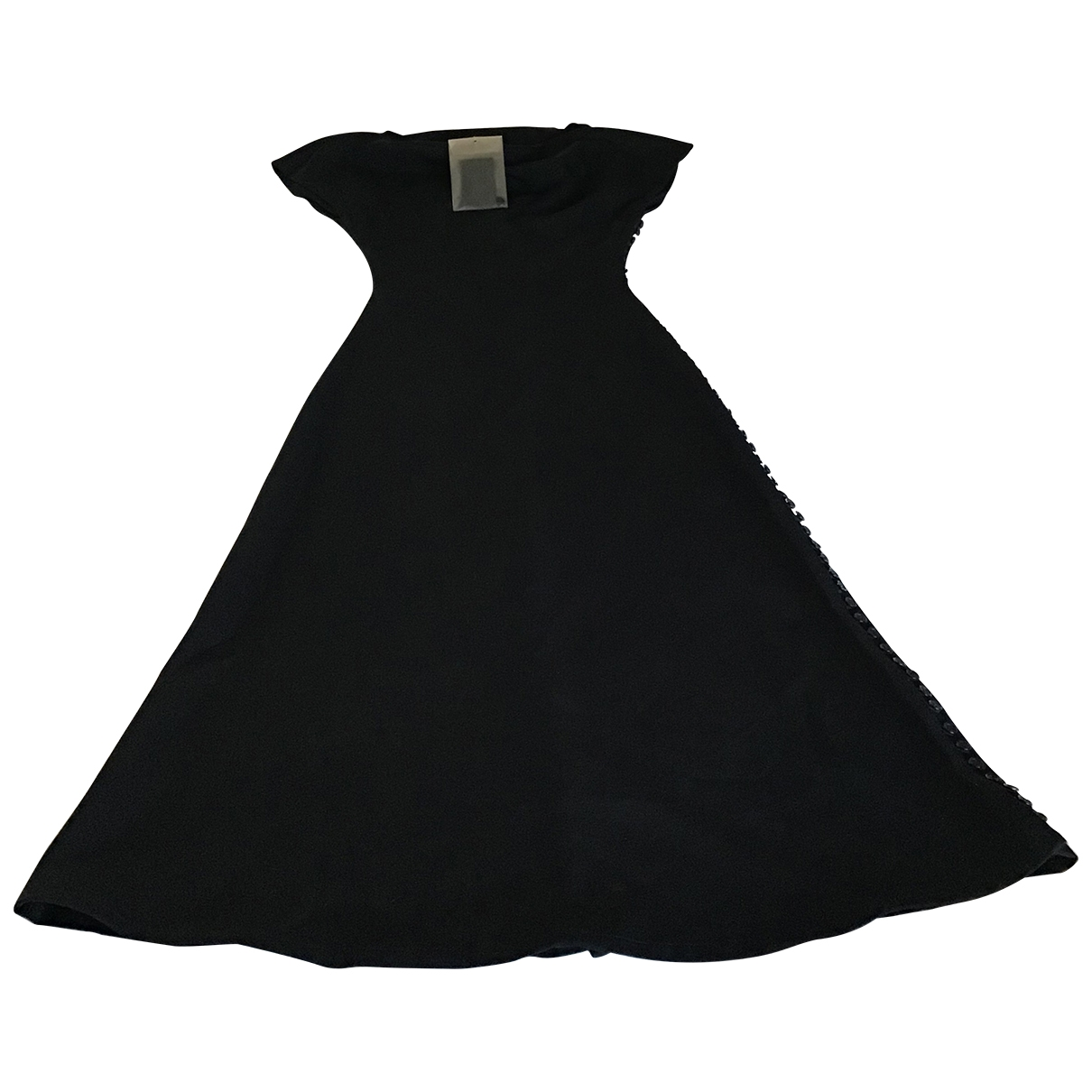 Maxi vestido de Lana Yohji Yamamoto