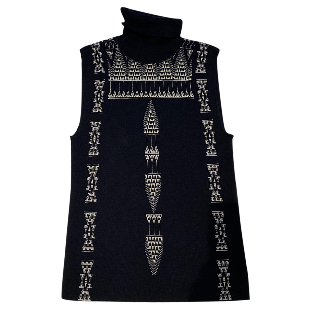 Hermes - Pull   pour femme en cachemire - noir