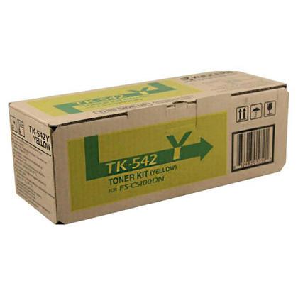 Kyocera-Mita TK542Y originale Yellow Toner Cartridge