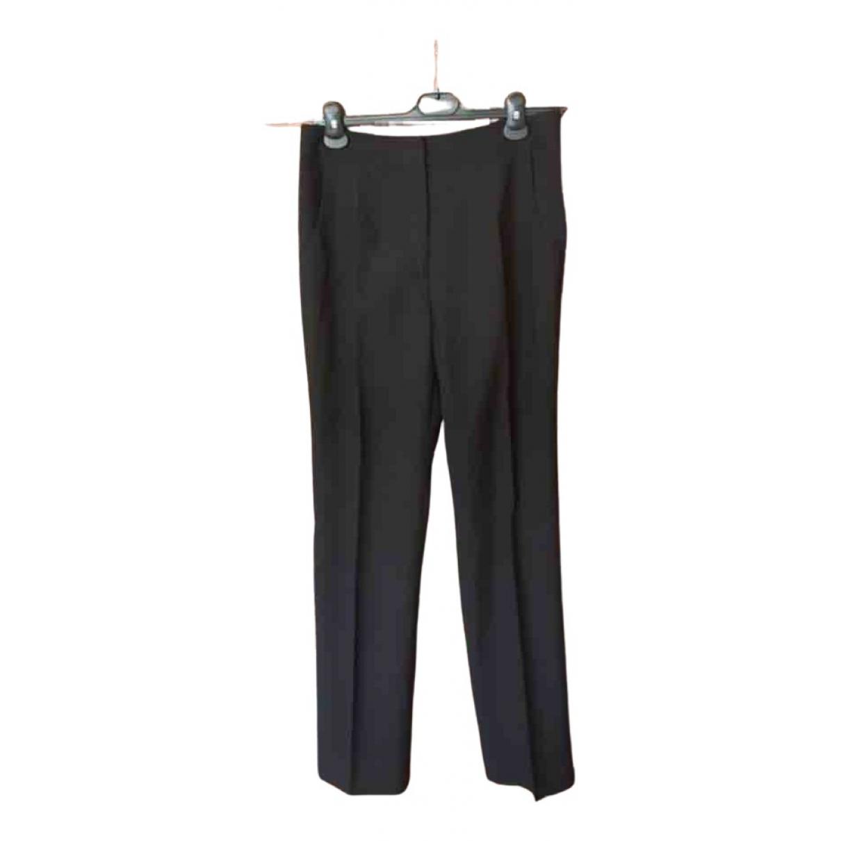 Pantalon recto de Lana Guy Laroche