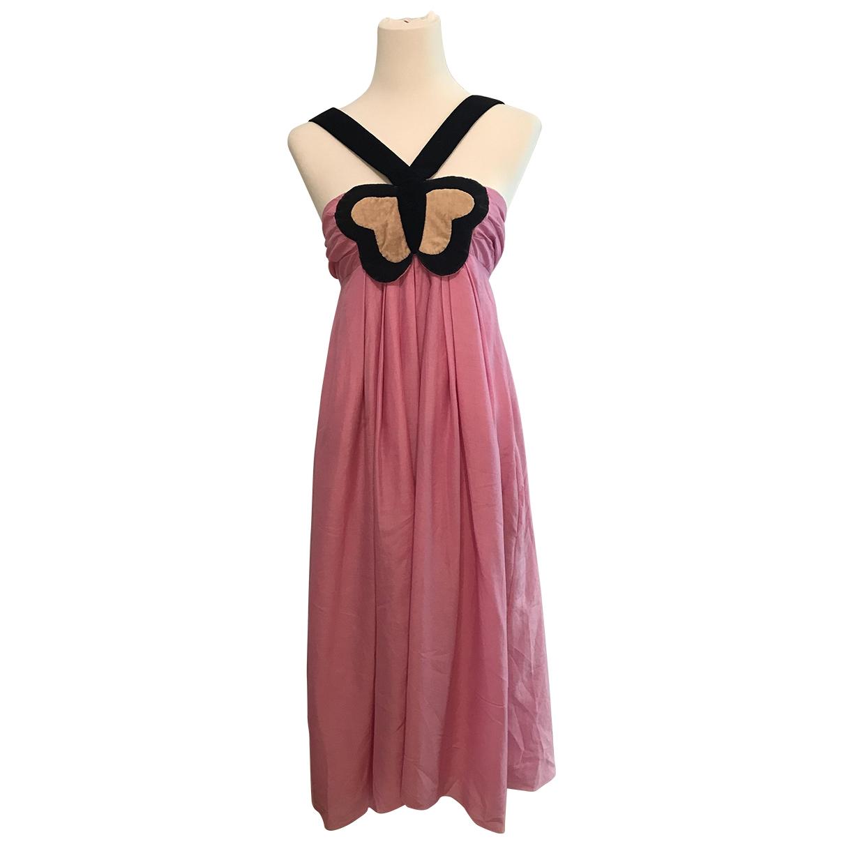 Sonia Rykiel \N Kleid in  Rosa Kaschmir