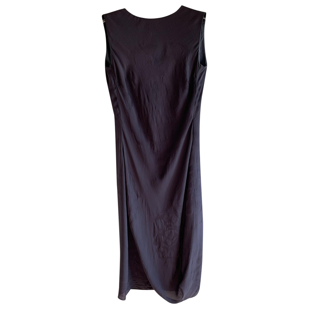 Vestido midi de Seda Calvin Klein Collection