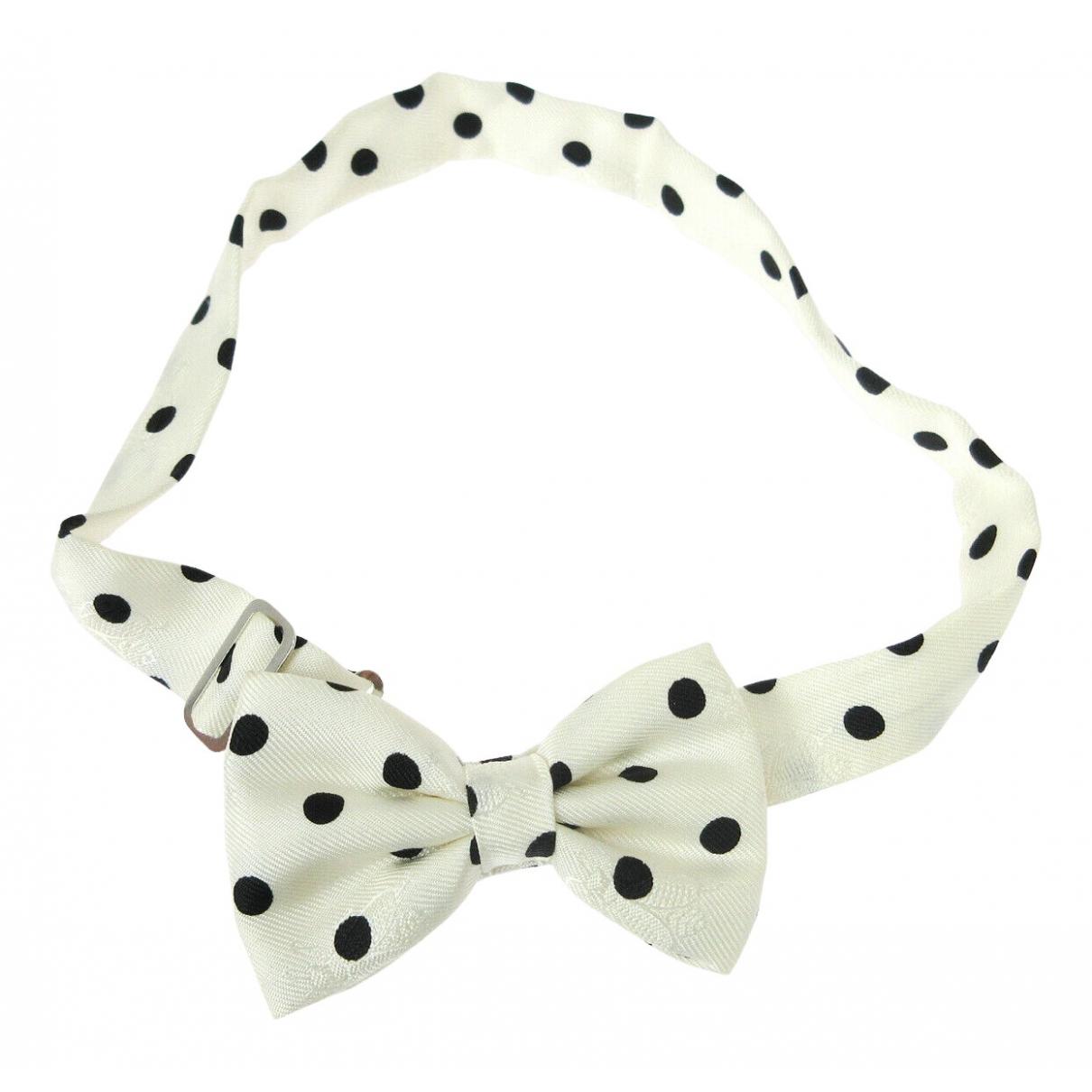 Hermes - Cravates Noeud Papillon pour homme en soie - blanc