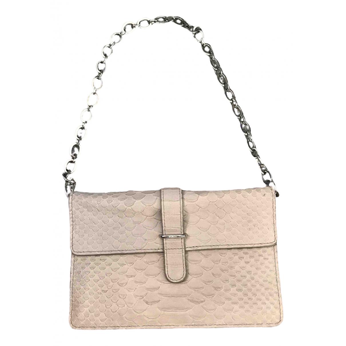 Furla \N Grey Leather Clutch bag for Women \N