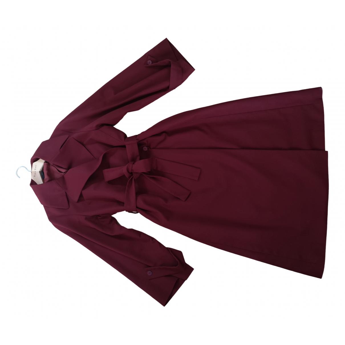 The Row \N Burgundy Cotton coat for Women L International
