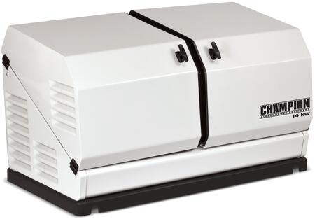 100237 14-kW Home Standby Generator with Gull-Wing Design  Sound Dampening and Sub Zero/High Heat Start Up in