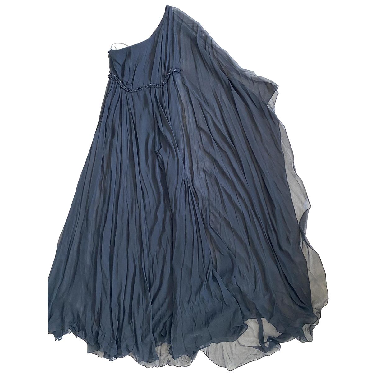 Marchesa Notte \N Black Silk dress for Women 8 US
