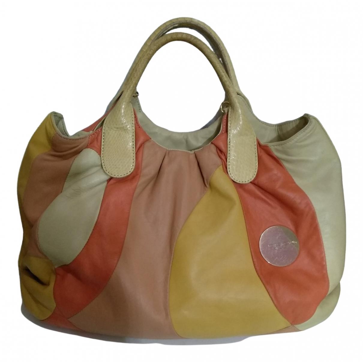 Tosca Blu - Sac a main   pour femme en cuir - multicolore