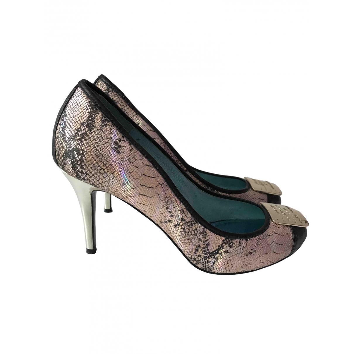 Just Cavalli \N Multicolour Python Heels for Women 40 EU