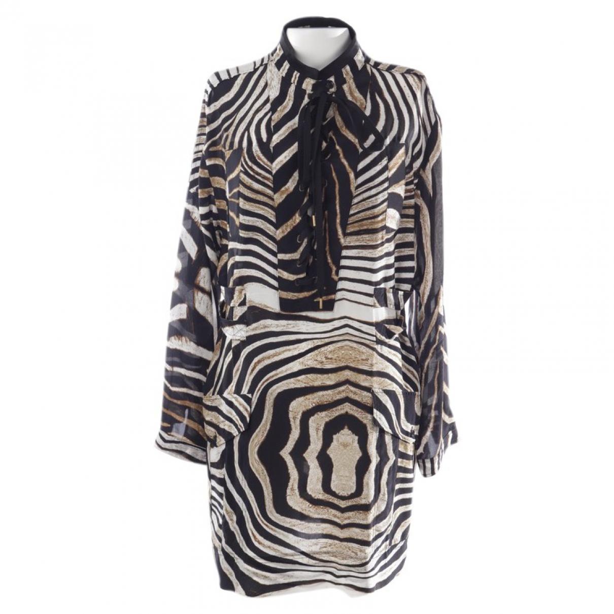 Just Cavalli N Multicolour Silk dress for Women 36 FR