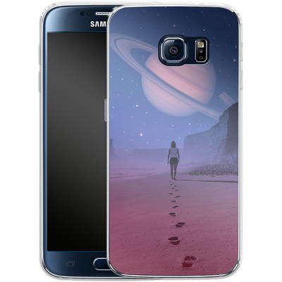 Samsung Galaxy S6 Silikon Handyhuelle - Glimpse of a Dream Wide von Enkel Dika