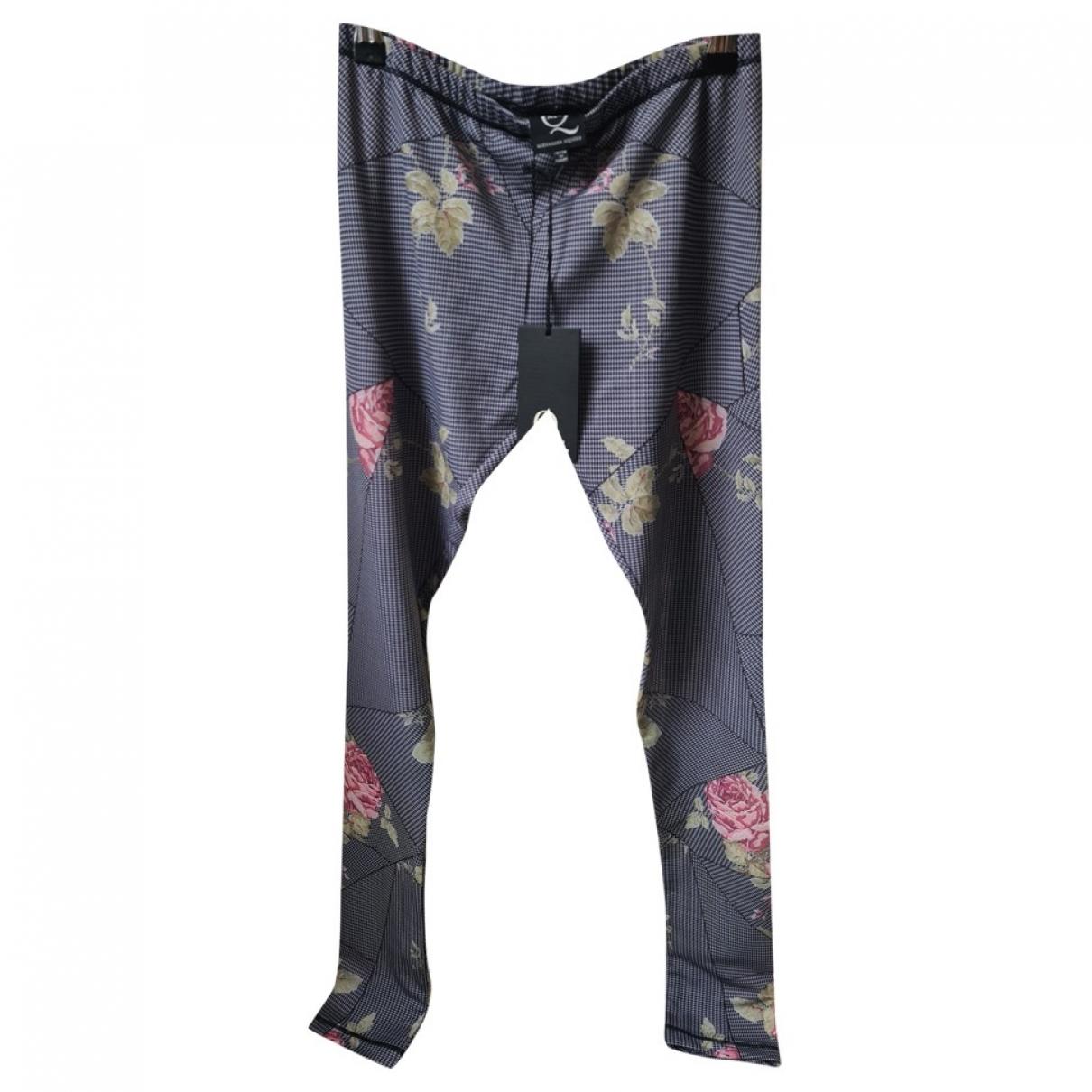 Mcq \N Multicolour Trousers for Women S International