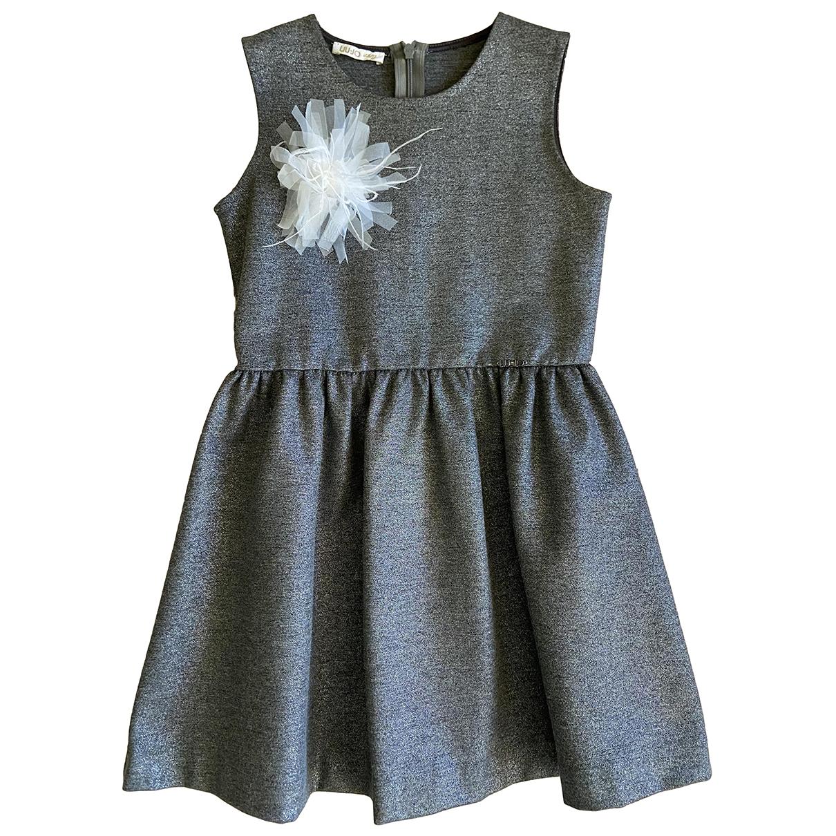 Liu.jo \N Kleid in  Metallic Viskose