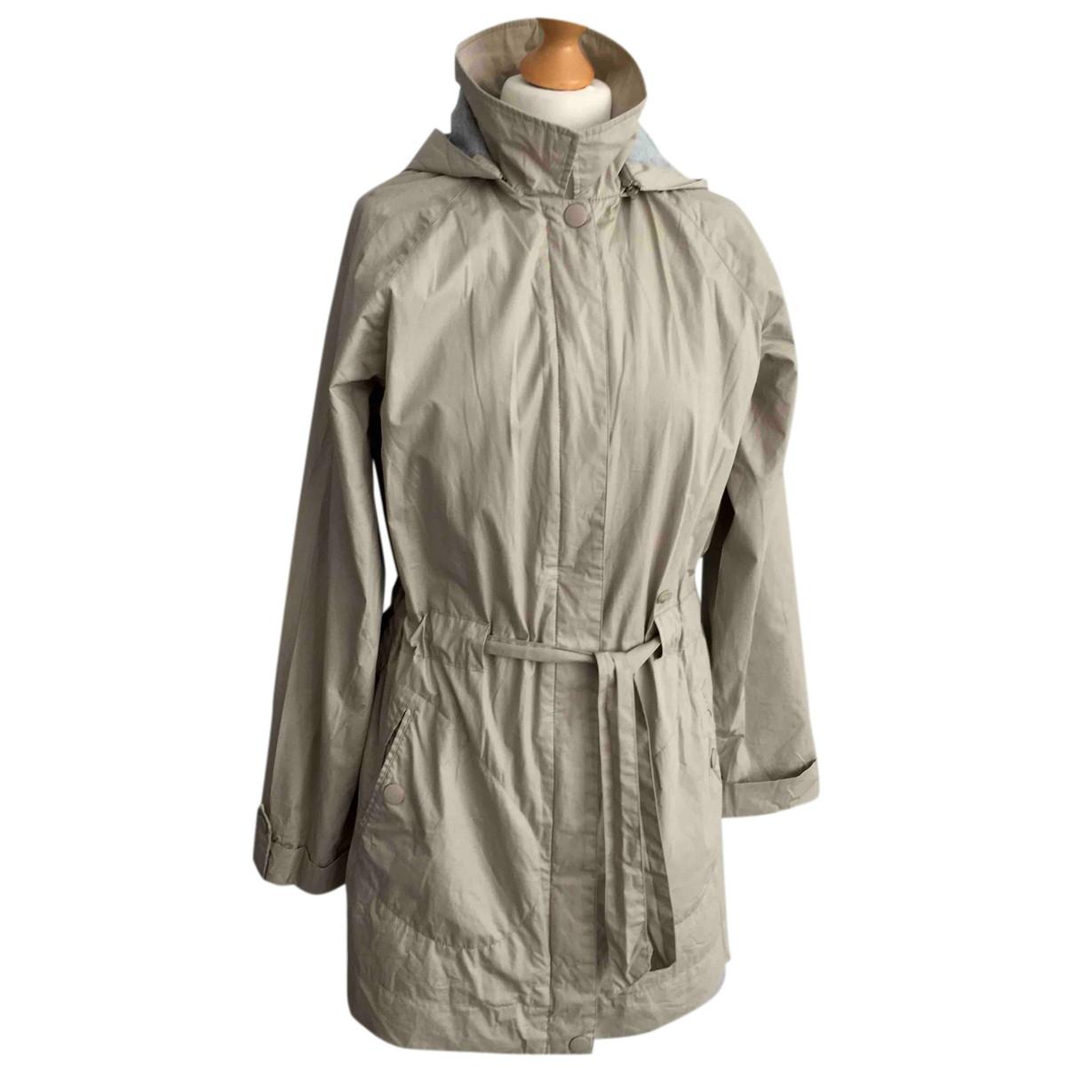 Lacoste - Manteau   pour femme en coton - beige