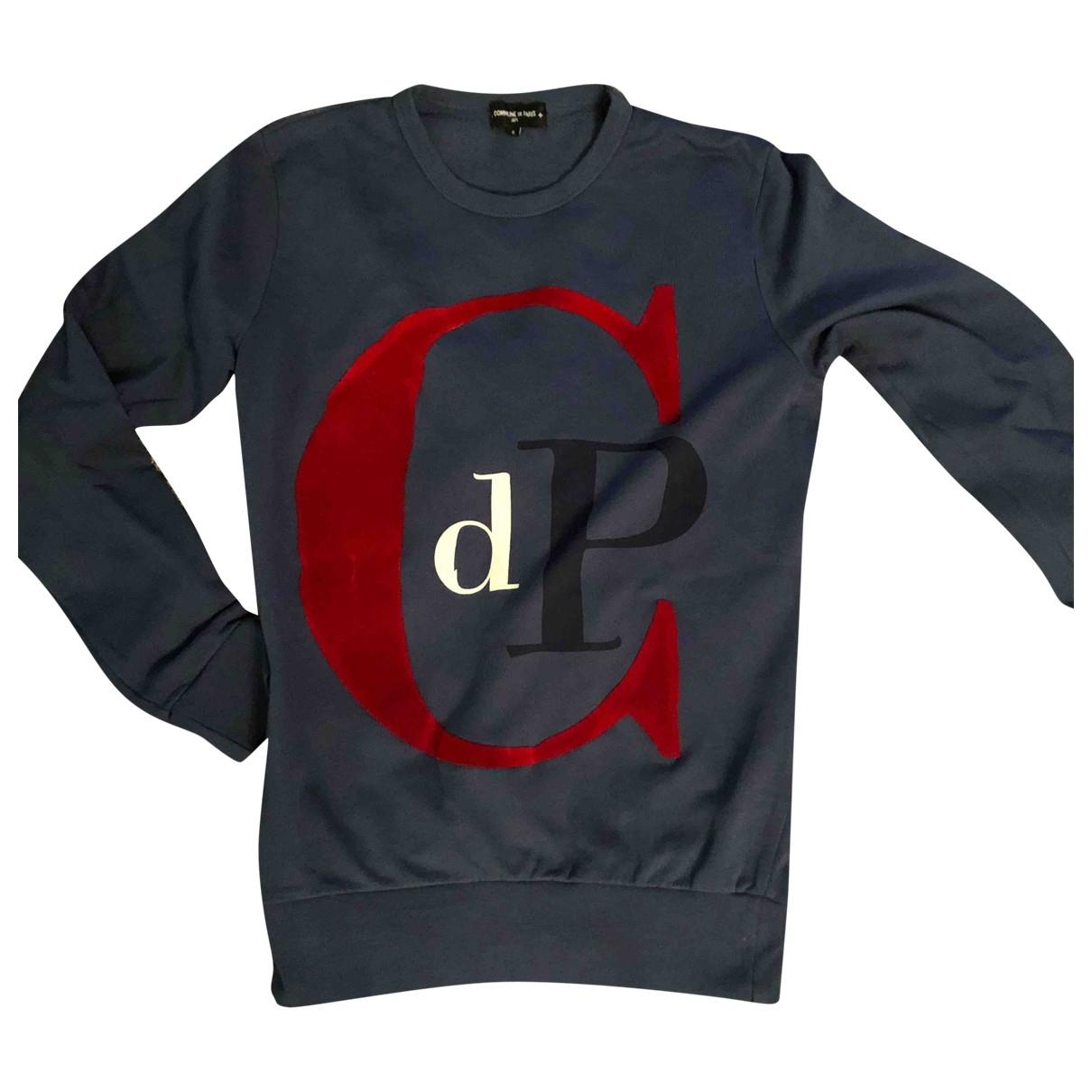 Commune De Paris \N Pullover.Westen.Sweatshirts  in  Blau Baumwolle