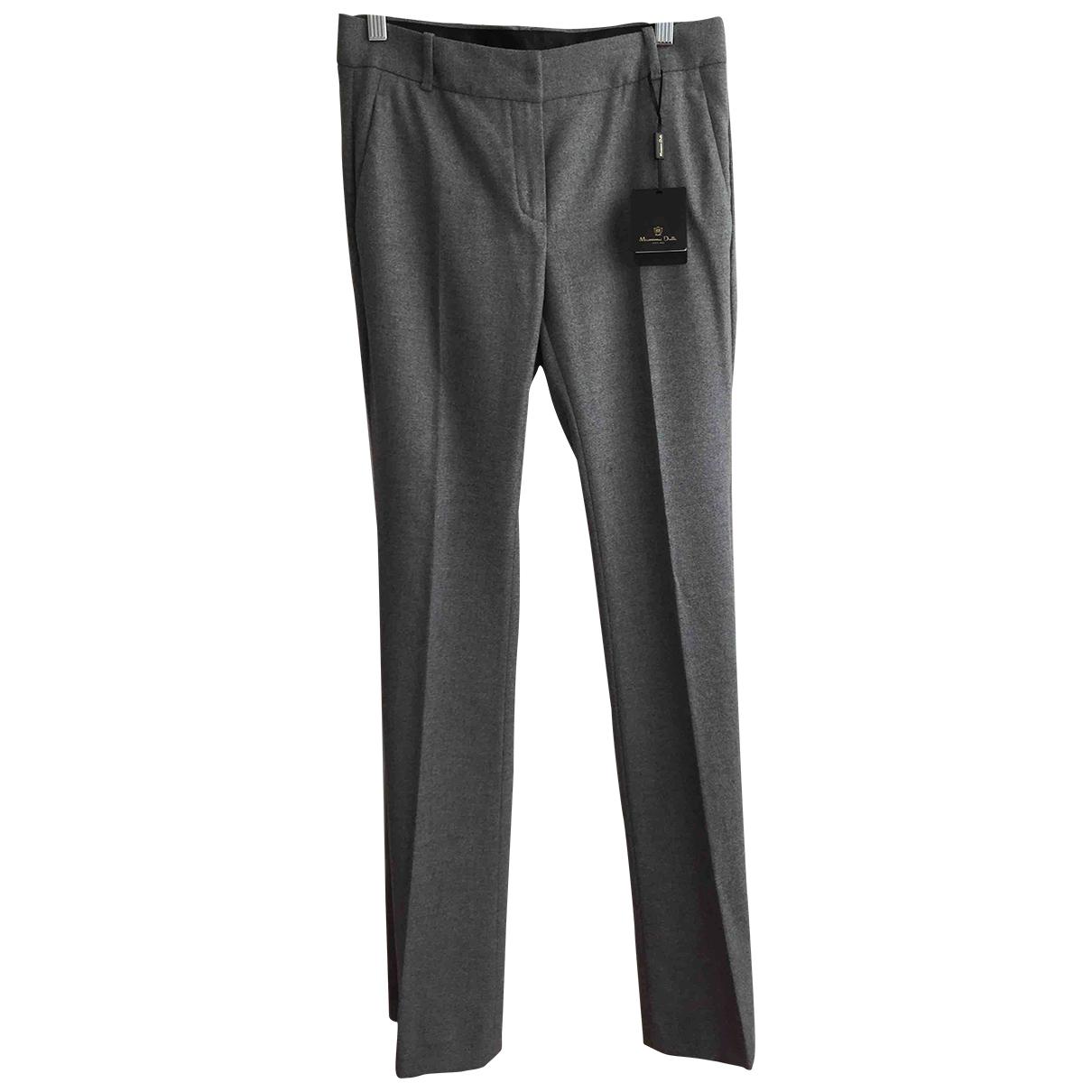 Massimo Dutti \N Grey Trousers for Women S International