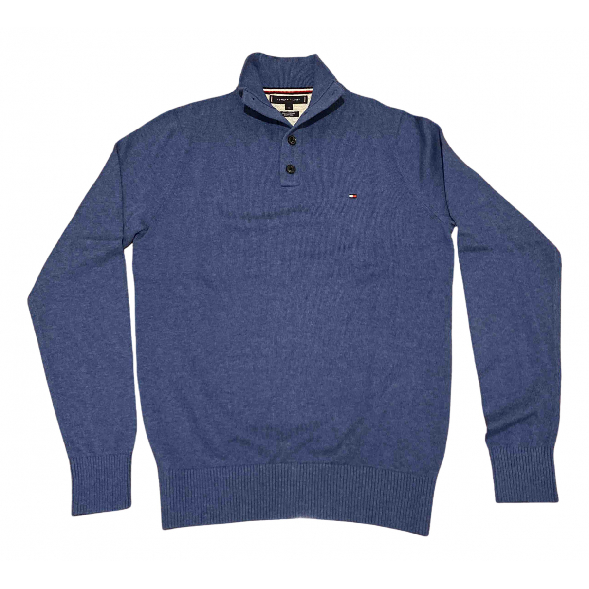 Tommy Hilfiger N Blue Cotton Knitwear & Sweatshirts for Men XS International