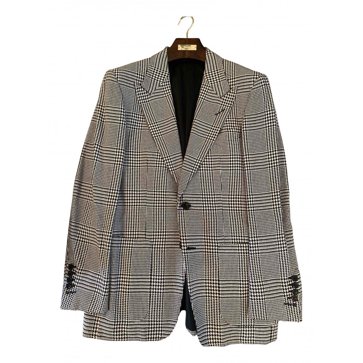 Tom Ford - Vestes.Blousons   pour homme en coton - noir