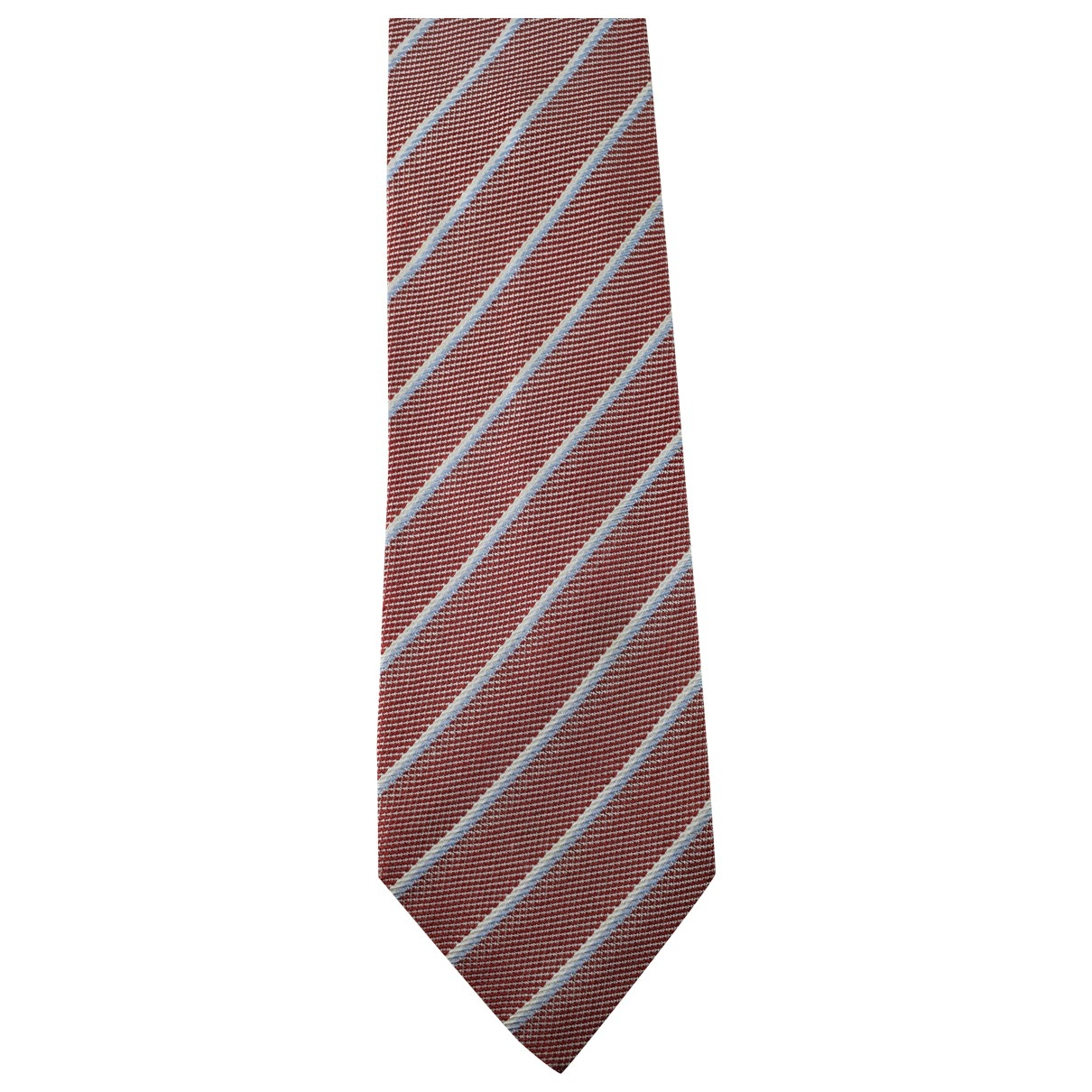 Balenciaga - Cravates   pour homme en soie - rouge