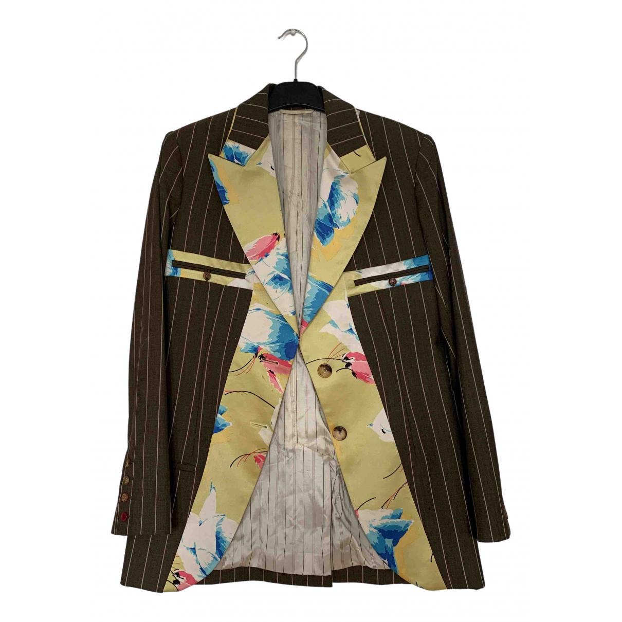 Dior \N Brown Wool jacket for Women 36 FR