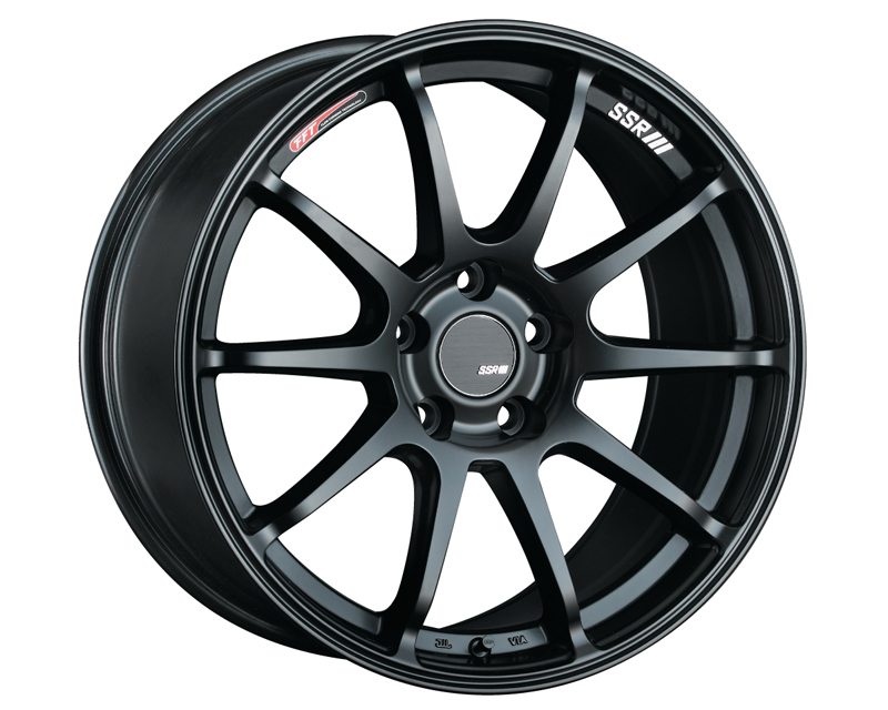 SSR GTV02 Wheel Matte Black 19x9.5 5x114.3 35mm