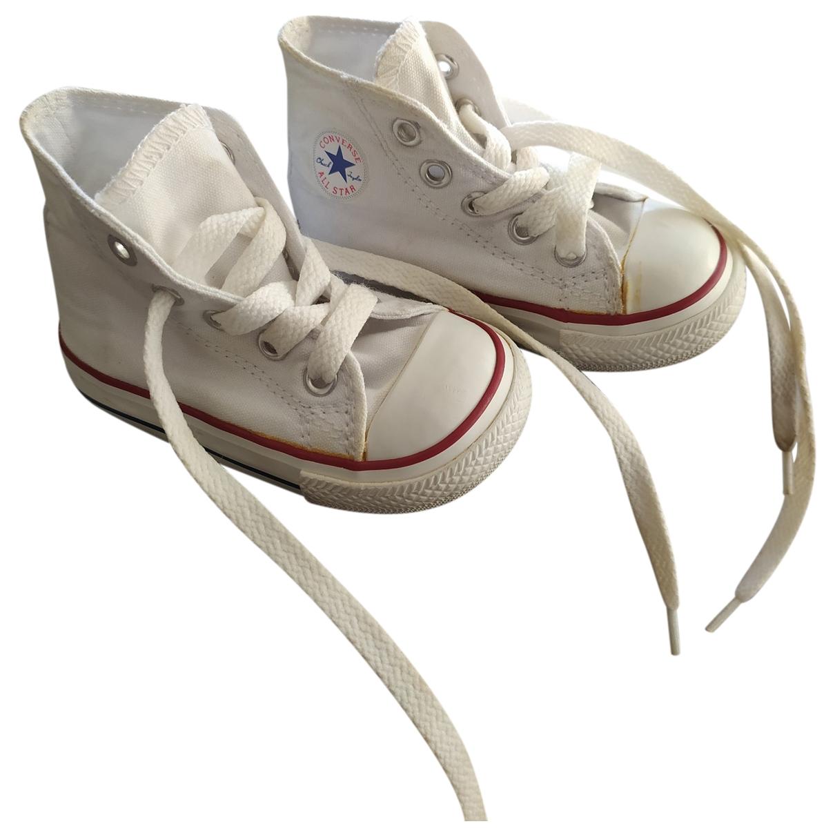 Converse \N White Cloth Trainers for Kids 20 EU