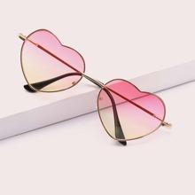 Kinderherzrahmen-Sonnenbrille