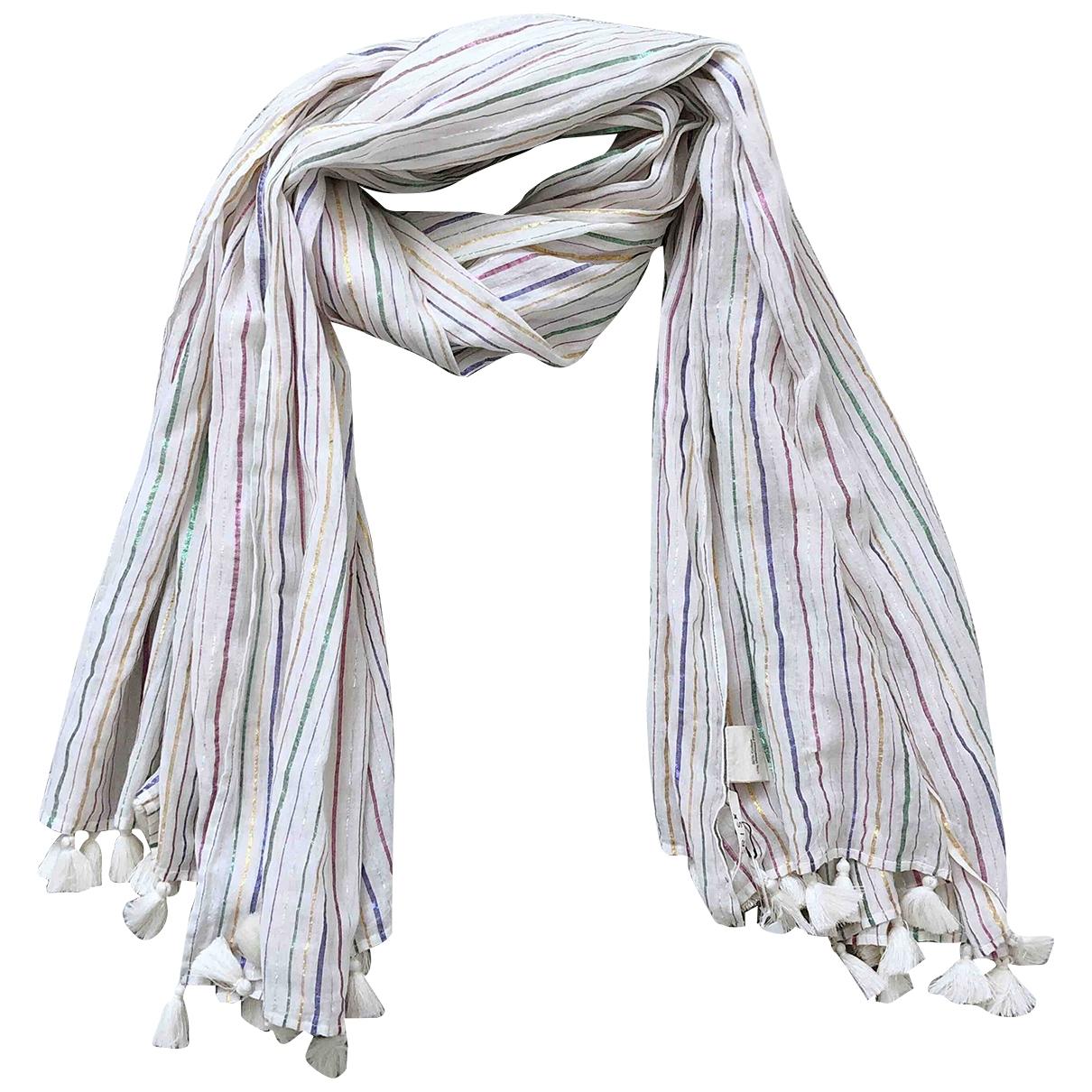 - Foulard   pour femme en coton - multicolore