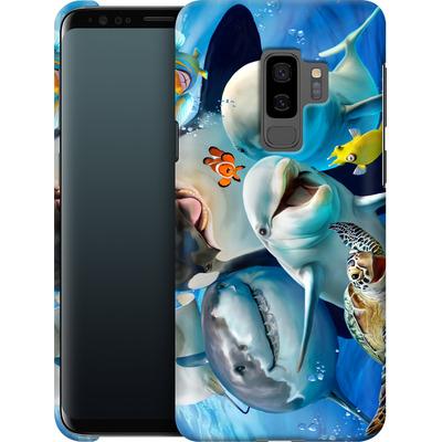 Samsung Galaxy S9 Plus Smartphone Huelle - Ocean Selfie von Howard Robinson