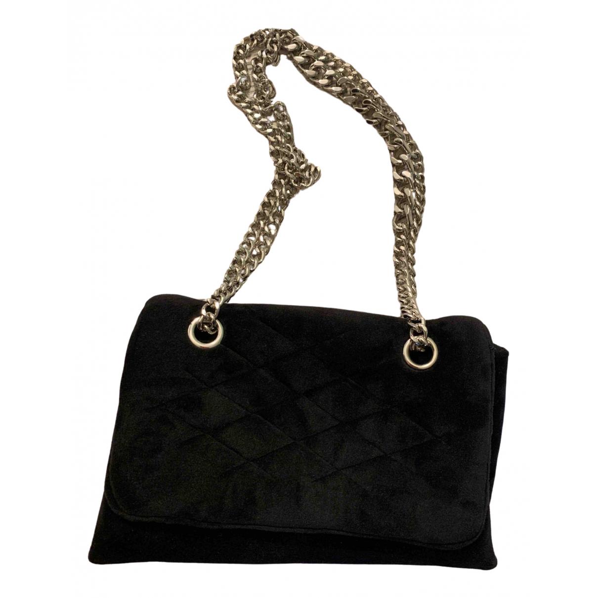 Mango \N Black Velvet handbag for Women \N