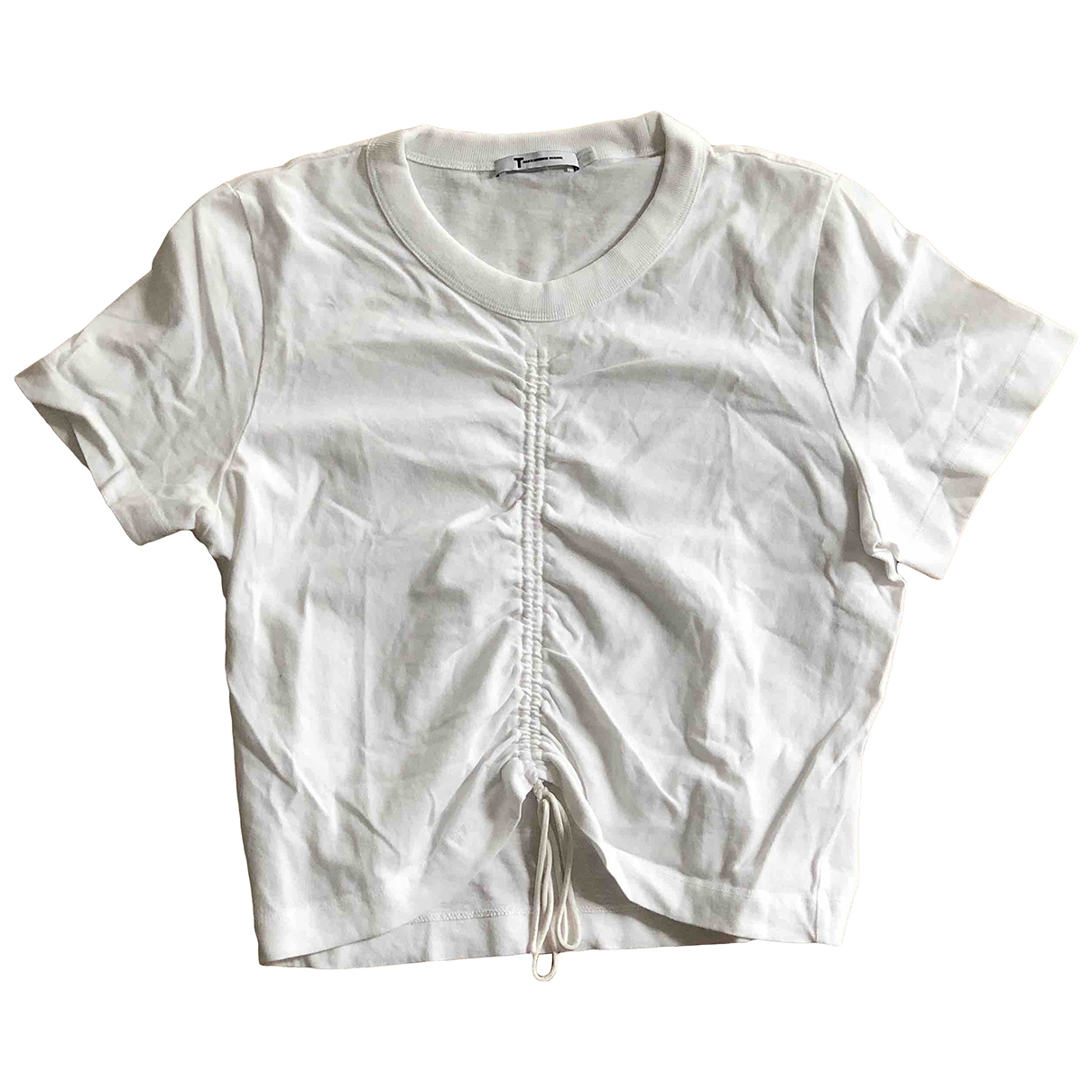 T By Alexander Wang \N White Cotton  top for Women M International