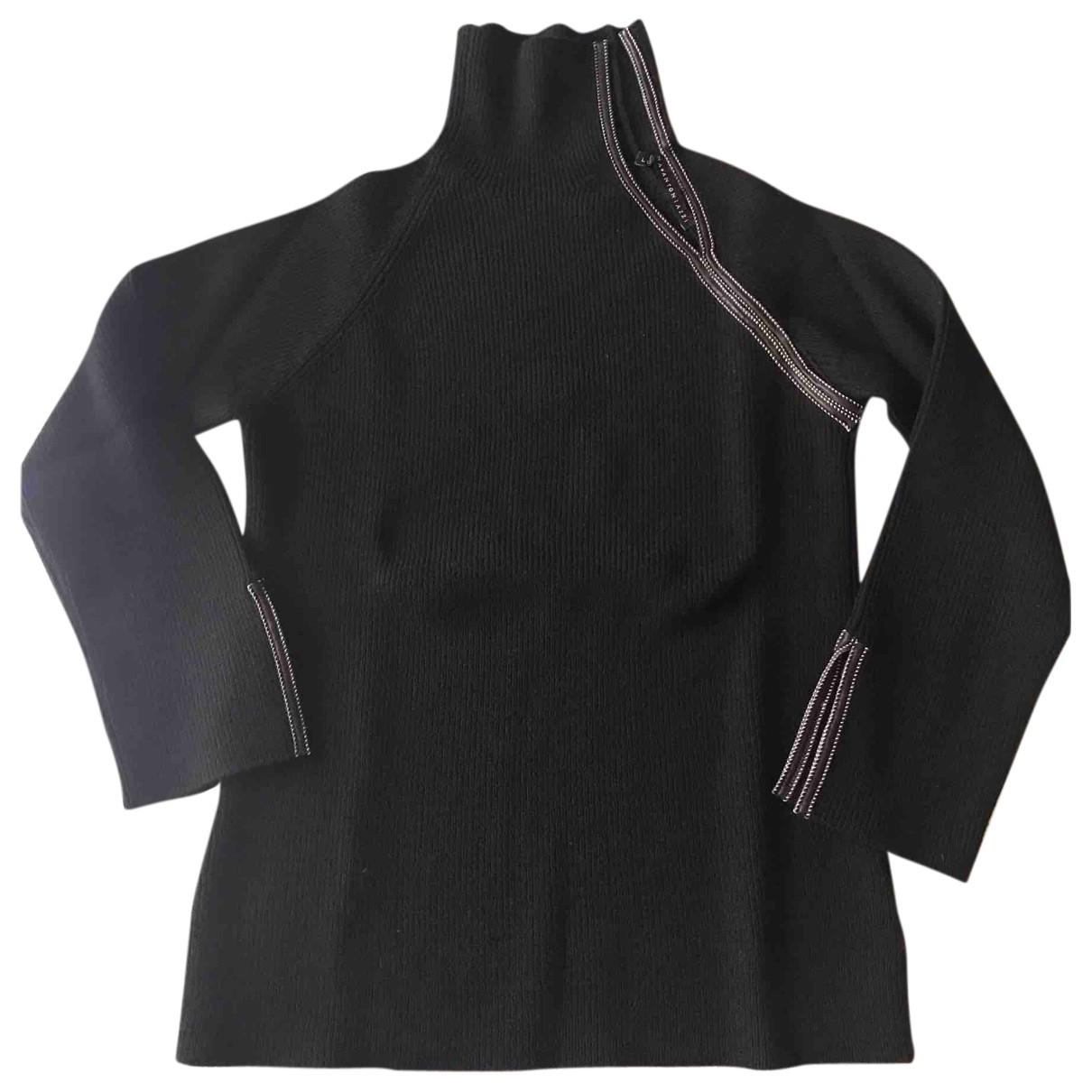Lorena Antoniazzi N Black Wool Knitwear for Women 40 IT